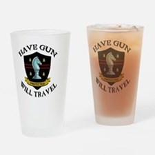 paladin Drinking Glass