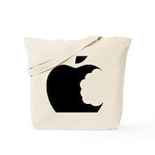 apple logo Tote Bag