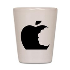apple logo Shot Glass