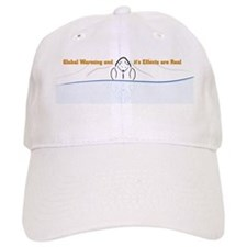 Polar Bear Reflection Baseball Baseball Cap
