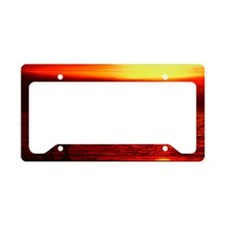 Sunset Darwin beach14x6 License Plate Holder
