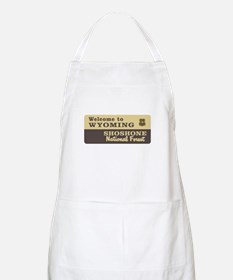 Welcome to Wyoming - USA BBQ Apron