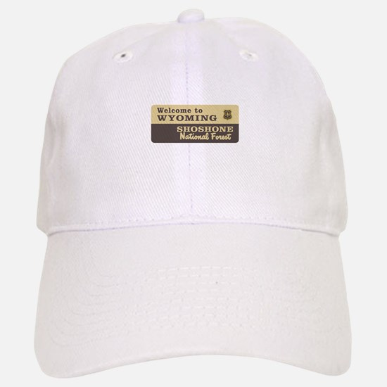 Welcome to Wyoming - USA Baseball Baseball Cap