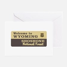 Welcome to Wyoming - USA Greeting Cards (Package o