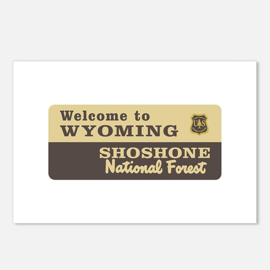 Welcome to Wyoming - USA Postcards (Package of 8)