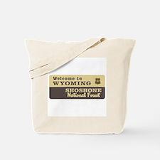 Welcome to Wyoming - USA Tote Bag