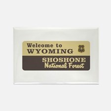 Welcome to Wyoming - USA Rectangle Magnet