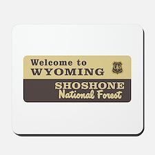 Welcome to Wyoming - USA Mousepad