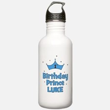 2-birthdayprince_1st_L Water Bottle
