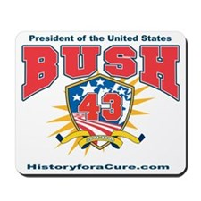 President George W Bush.43 Mousepad