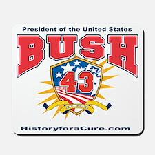 President George W Bush.43 Mousepad