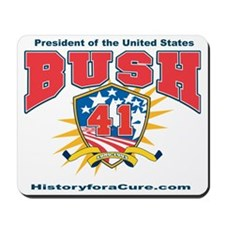 President George HW Bush.41 Mousepad