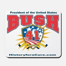 President George HW Bush.41 Mousepad