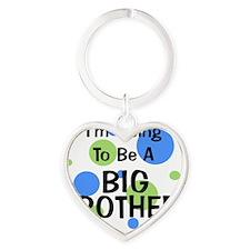 circles_goingtobeaBIGBROTHER Heart Keychain
