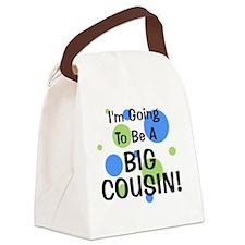 circles_goingtobeaBIGCOUSIN_boy Canvas Lunch Bag