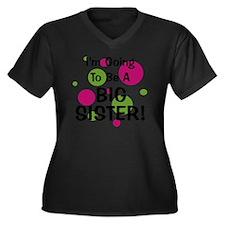 circles_goin Women's Plus Size Dark V-Neck T-Shirt