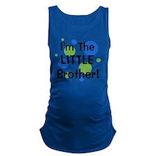 imthelittlebrother_greenbluecir Maternity Tank Top