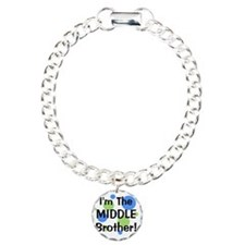 imthemiddlebrother_green Charm Bracelet, One Charm