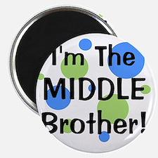 imthemiddlebrother_greenbluecircles Magnet