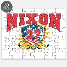 dark shirtPresident Richard Nixon Puzzle