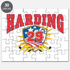 President Warren G Harding.dark shirt Puzzle