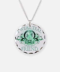 I Wear Teal for my Friend (f Necklace