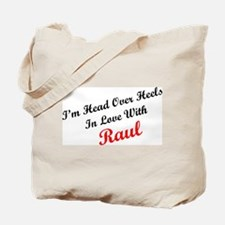 In Love with Raul Tote Bag