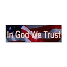 In God We Trust Car Magnet 10 x 3