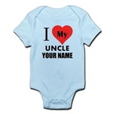 I Heart My Uncle (Custom) Body Suit