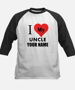 I Heart My Uncle (Custom) Baseball Jersey