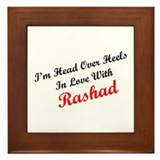 In Love with Rashad Framed Tile
