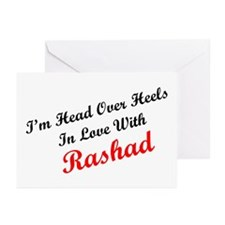 In Love with Rashad Greeting Cards (Pk of 10)