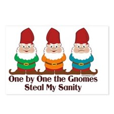 onebyonethegnomesSTICKERS Postcards (Package of 8)