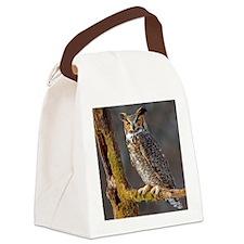 Hoot OWL Canvas Lunch Bag
