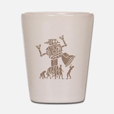 2-robotV2 Shot Glass