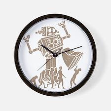 2-robotV2 Wall Clock