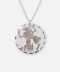 2-robotV2 Necklace