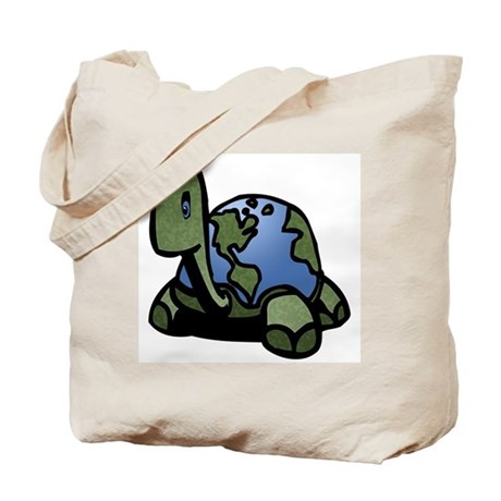 Turtle World Tote Bag