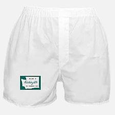 Welcome to Washington - USA Boxer Shorts