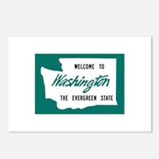 Welcome to Washington - USA Postcards (Package of