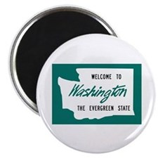 Welcome to Washington - USA Magnet