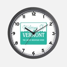 Welcome to Vermont - USA Wall Clock