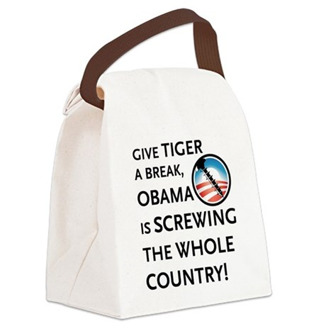 TIGERBREAK Canvas Lunch Bag