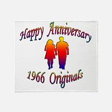 ann 1966 Throw Blanket