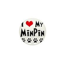 I-Love-My-Min-Pin Mini Button