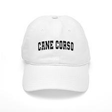 Cane Corso Black Baseball Cap