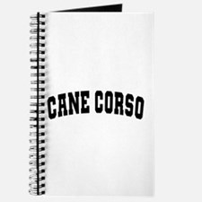 Cane Corso Black Journal