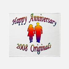 ann 2008 Throw Blanket