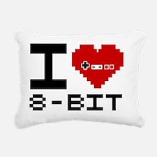 IHeat8-bit2 Rectangular Canvas Pillow