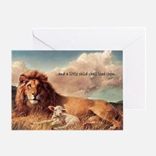 greeting card and little child Greeting Card